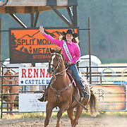 Darby Rodeo Princess contestant at the Darby Rodeo Association Elite Bull Connection event July 5th 2019.  Photo by Josh Homer/Burning Ember Photography.  Photo credit must be given on all uses.