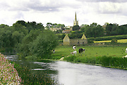 The Northamptonshire village of Islip, on the river Nene near the town of Thrapston