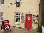 A51P52 Religious shop Little Walsingham Norfolk England