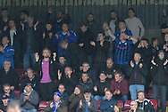 Rochdale fans during the EFL Sky Bet League 1 match between Scunthorpe United and Rochdale at Glanford Park, Scunthorpe, England on 8 September 2018. Photo Ian Lyall
