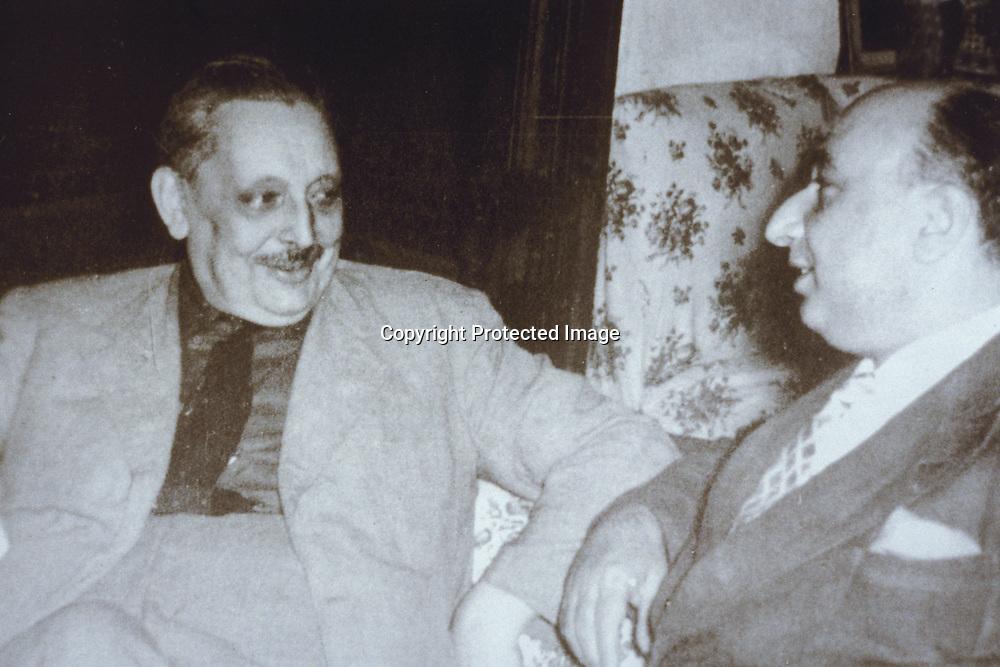 Giuseppe Tomasi di Lampedusa (a sinistra), Emanuele Sgadari<br />archivio effigie
