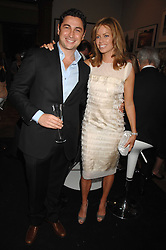 CEM & CAROLINE HABIB at the Royal Academy of Arts Summer Exhibition Party at the Royal Academy, Piccadilly, London on 6th June 2007.<br /><br />NON EXCLUSIVE - WORLD RIGHTS