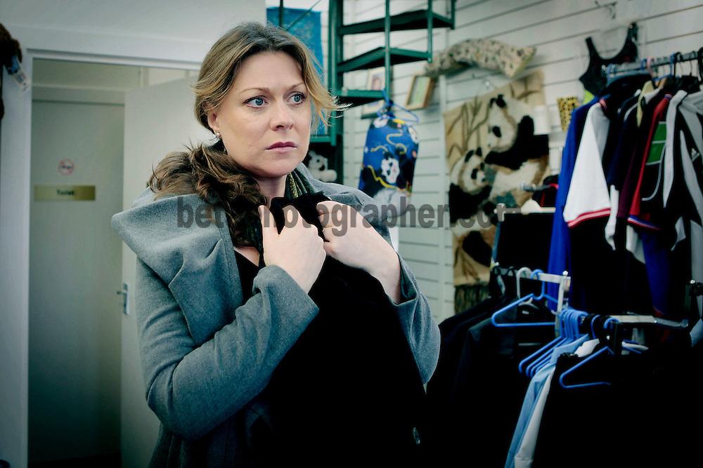 Fair City Eps 165<br /> TX Tuesday 11th October 2011<br /> Jo impulsively takes Niamh's jacket<br /> Jo - Rachel Sarah Murphy