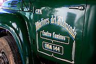 Truck sign in Gibara, Holguin, Cuba.