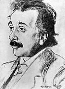 Albert Einstein (1879-1955) German-Swiss mathematician in 1920. Relativity