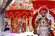 Bolivia. Tarija. Festa di San Roque..After the San Roque comes san Roquito, a minor celebratory version.
