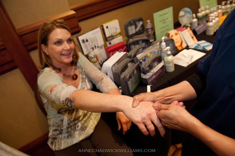 Mercy Care event at Sheraton downtown Sacramento, Tuesday, Oct. 5, 2010