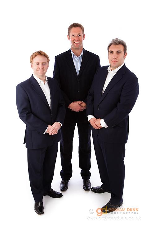 Corporate group portrait, commercial portraiture - Sheffield