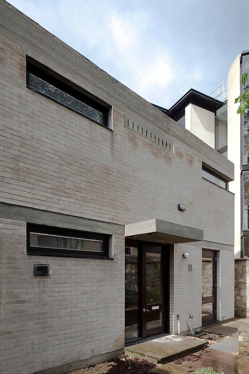 1960s house, brick, oxford, UK