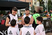 Basketball: ING-DiBa German Championship 3x3, Deutsche Meisterschaft, Hamburg, 05.08.2017<br /> Charity-Spiel: Ex-Fussballprofi Ivan Klasnic<br /> (c) Torsten Helmke