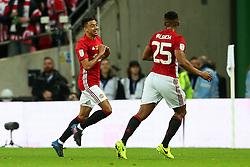 Jesse Lingard of Manchester United celebrates after scoring his sides second goal  - Mandatory by-line: Matt McNulty/JMP - 26/02/2017 - FOOTBALL - Wembley Stadium - London, England - Manchester United v Southampton - EFL Cup Final