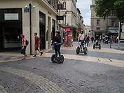 Tourists,  Avignon, 10 June 2018