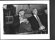 Donald Trump, Ivanka, Eric, Jeffrey Epstein, Harley Davidson party. Manhattan. 19 October 1993.