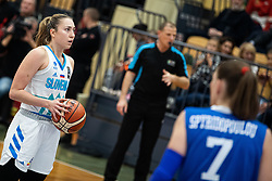 Annamaria PREZELJ of Slovenia during basketball match qualifications for European Championship, round 1, between national teams Slovenia and Greece in Arena Celje - Center, 14. November, Ljubljana, Slovenia. Photo by Grega Valancic / Sportida