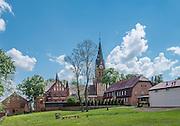 Gietrzwałd, 2014-05-18. Sanktuarium Maryjne w Gietrzwałdzie.