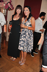 Left to right, JANE GREEN and her daughter JESSICA GREEN at a party to celebrate Tamara Ecclestone's 28th birthday held in Tyringham, Newport Pagnell, Bucks on15th June 2012.
