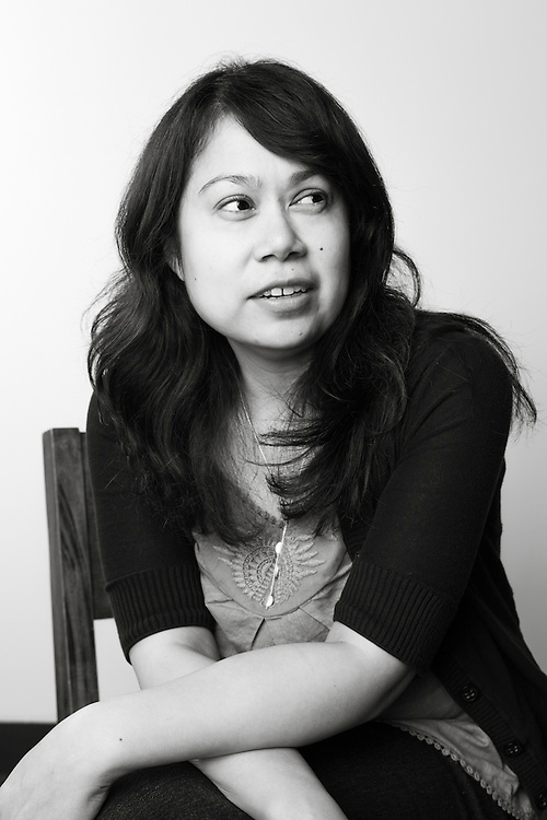 19 April 2012- Niz Proskocil, writer, is photographed at Minorwhite Studios.