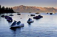 Personal watercraft in Lake Tahoe, Zephyr Cove, Nevada