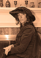"""Tamara McGonagle will portray Anna Samson Bradley in Judy Buswell's play """"I Have Been Busy All Day"""" written from Anna's diaries from the 1890's.  (Karen Bobotas/for the Laconia Daily Sun)"""
