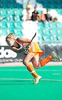 ROTTERDAM - HOCKEY - Maartje Paumen tijdens de Oefenwedstrijd tussen de vrouwen van Nederland en Duitsland (10-2) ter voorbereiding voor de HWL, volgende week. COPYRIGHT KOEN SUYK