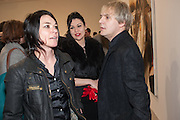 SUE WEBSTER; NEFER SUVIO; NICK RHODES; , This is not an Exit. Mat Collishaw. Blain Southern. Hanover Sq. London. 13 February 2013.