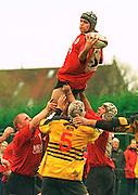 Old Deer Park, Richmond. London Welsh vs Henley Hawks  Intersport<br /> <br /> National League Division 1<br /> London Welsh v Henley<br /> <br /> London Welsh Lock Andy Johnson