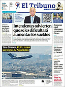 August 31, 2021 - LATIN AMERICA: Front-page: Today's Newspapers In Latin America
