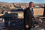 Portraits of Albuquerque New Mexico Republican mayor Richard Berry.