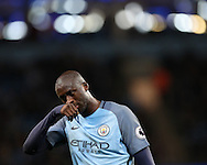 Yaya Toure of Manchester City during the English Premier League match at The Etihad Stadium, Manchester. Picture date: December 12th, 2016. Photo credit should read: Lynne Cameron/Sportimage