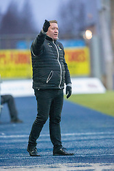 Inverness Caledonian Thistle's manager John Robertson. Falkirk 3 v 1 Inverness Caledonian Thistle, Scottish Championship game played 27/1/2018 at The Falkirk Stadium.