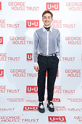 © Licensed to London News Pictures. 26/10/2019. Salford, UK. Actor and Years & Years musician OLLY ALEXANDER attends the George House Trust charity fundraising gala at the Lowry Hotel . The George House Trust provides support for those living with and affected by HIV . Photo credit: Joel Goodman/LNP