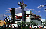 Harley Davidson cafe, The Strip, Las Vegas, Nevada, USA