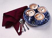 Homemade hot chocolate prepared by Chef Kirsten Dixon of Winterlake Lodge, Alaska.