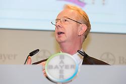 26.02.2015, Bayer-Kommunikationszentrum, Leverkusen, GER, Bilanzpressekonferenz Bayer AG, Ergebnisse des Geschäftsjahres 2014, im Bild // during a Annual Press Conference Bayer AG at the Bayer-Kommunikationszentrum in Leverkusen, Germany on 2015/02/26. EXPA Pictures © 2015, PhotoCredit: EXPA/ Eibner-Pressefoto/ Schueler<br /> <br /> *****ATTENTION - OUT of GER*****