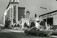 1972 Looking north on Vine St from Selma Ave.