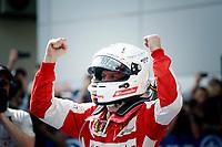 VETTEL sebastian (ger) ferrari sf15t action winner during 2015 Formula 1 FIA world championship, Malaysia Grand Prix, at Sepang from March 27th to 30th. Photo Francois Flamand / DPPI