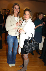 Left to right, POLLY WYLIE and ANNA SCOTT at an exhibition of photographs by Jack Cardiff held at The Royal College of Art, Kensington Gore, London on 10th November 2004.<br /><br />NON EXCLUSIVE - WORLD RIGHTS
