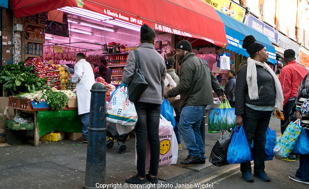 Streets of Brixton South London