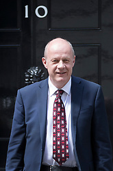 © Licensed to London News Pictures. 14/07/2016. London, UK. Newly appointed Work and Pensions Secretary Damian Green leaves Downing Street as Prime Minister Theresa May continues to make cabinet appointments on her first full day in office. Photo credit: Peter Macdiarmid/LNP