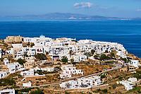 Grece, Cyclades, ile de Sifnos, village de Kastro // Greece, Cyclades islands, Sifnos, Kastro village