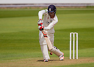 Keaton Jennings (Durham County Cricket Club) out lbw from the bowling of Rikki Clarke (Warwickshire County Cricket Club) during the LV County Championship Div 1 match between Durham County Cricket Club and Warwickshire County Cricket Club at the Emirates Durham ICG Ground, Chester-le-Street, United Kingdom on 12 July 2015. Photo by George Ledger.
