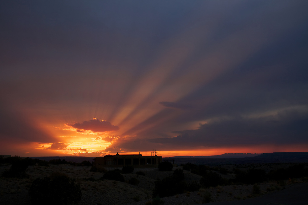 Sunset in Placitas, NM (near Albuquerque)