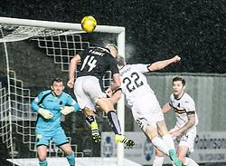 Falkirk's Peter Grant. <br /> Falkirk 1 v 0 Dumbarton, Scottish Championship game played 26/12/2015 at The Falkirk Stadium.