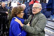 De vierde editie van De Hollandse 100 in Thialf, Heerenveen. De Hollandse 100 is een initiatief van stichting Lymph&Co. Stichting Lymph&Co steunt grensverleggend onderzoek om de behandeling van lymfklierkanker te verbeteren<br /> <br /> Op de foto:  Pieter van Vollenhoven en Prinses Margriet