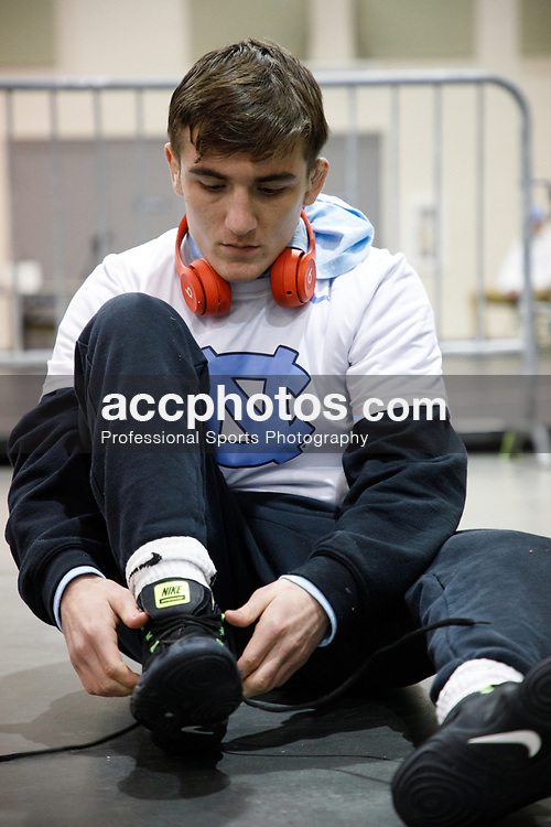 2019 November 03: Timothy Decatur of the North Carolina Tar Heels wrestling team at the 2019 Southeast Open Wrestling Tournament in Roanoke, Virginia.