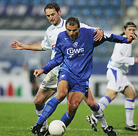 Fotball, 23. januar2005, Bundesliga VfL Bochum - Hertha BSC<br /> v.l. Josip SIMUNIC, Vratislav LOKVENC Bochum