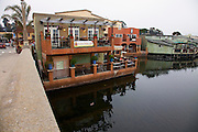 Retail shops and restaurants in Capitola, California