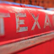 Texaco Gas Tanker Truck - Motor Transport Museum - Campo, CA - Lensbaby