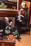 BILL CUNNINGHAM-REID; MRS. CUNNINGHAM-REID, Book launch for ' Daughter of Empire - Life as a Mountbatten' by Lady Pamela Hicks. Ralph Lauren, 1 New Bond St. London. 12 November 2012.