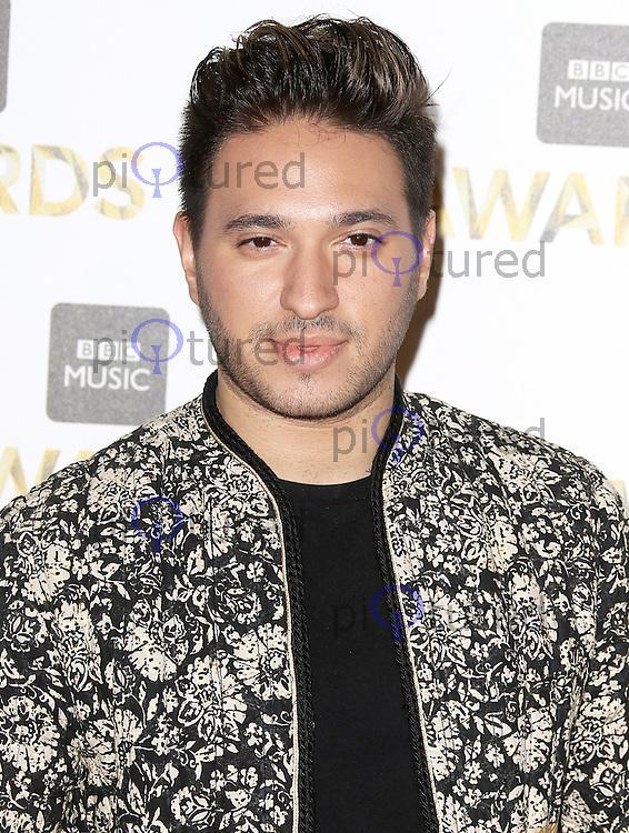 Jonas Blue, BBC Music Awards 2016, Excel Centre, London UK, 12 December 2016, Photo by Brett D. Cove